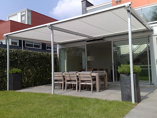 Vaste en doek terrasoverkappingen - Estructuras de aluminio para terrazas ...